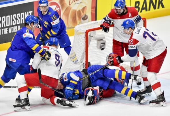 4d7a3ab18fce8 Hokej, Mistrovství světa 2019, zápas Česko Švédsko - Zdroj ČTK, Šimánek Vít