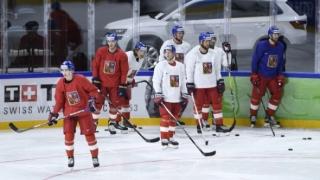 Hokej, Mistrovství světa 2018, česká hokejová reprezentace - Zdroj ČTK, Deml Ondřej