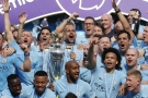 Manchester City slaví titul v Premier League