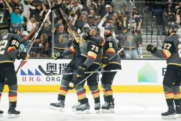 Hokejisté Vegas Golden Knights
