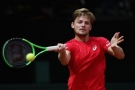 David Goffin pomohl Belgii do finále Davis Cupu 2017