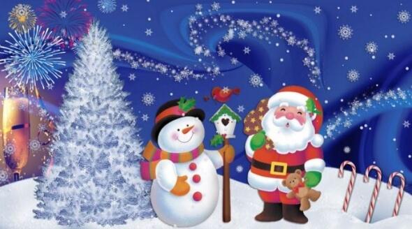 Elektronická vánoční přání ke stažení zdarma