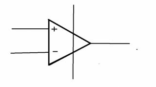 Operační zesilovač schématická značka