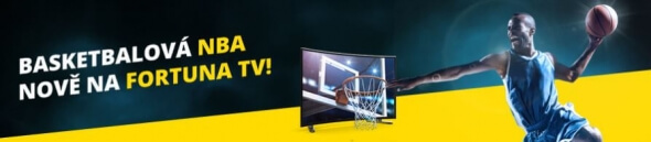 Sledujte basketbalovou NBA živě na Fortuna TV