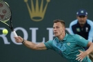 Marton Fucsovics na turnaji v Indian Wells