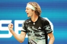 Alex Zverev na US Open 2019