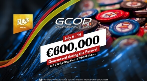 German Championship of Poker 2020 v King's Resortu Rozvadov