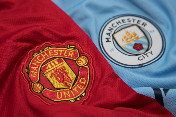 Premier League, derby Manchester City vs Manchester United - Zdroj charnsitr, Shutterstock.com