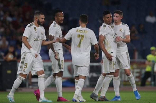 La Liga, Real Madrid slaví branku - Zdroj Marco Iacobucci Epp, Shutterstock.com