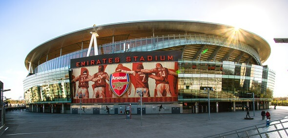 Premier League, Arsenal, Emirates stadion - Zdroj b-hide the scene, Shutterstock.com